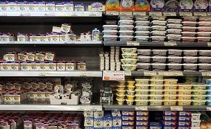 קוטג' או גבינה לבנה? (צילום: Nati Shohat/FLASH90, חדשות)
