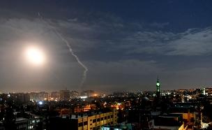 תקיפה בסוריה (צילום: AP, חדשות)