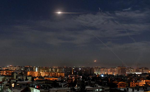 תקיפה בסוריה, ארכיון (צילום: AP, חדשות)