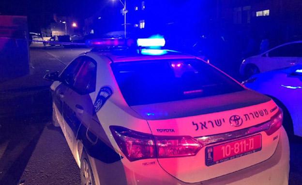 זירת הרצח בקריית מלאכי, אילוסטרציה (צילום: דוברות המשטרה, חדשות)