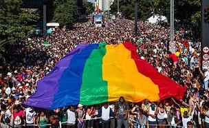 מצעד הגאווה הגדול בעולם (צילום:  Victor Moriyama, getty images)