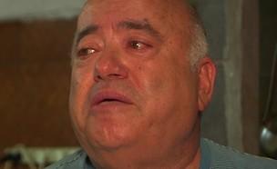 """ד""""ר שקשוקה פורץ בבכי (צילום: מתוך """"אנשים"""", שידורי קשת)"""