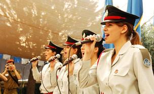 """זמרות להקה צבאית (צילום: דובר צה""""ל, אתר צה""""ל)"""