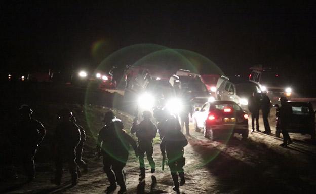 כוחות הביטחון בליל הפינוי (צילום: Forensic Architecture   , חדשות)