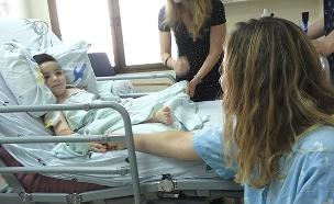 תרמה כליה לילד זר - במקום לבעלה (צילום: החדשות)
