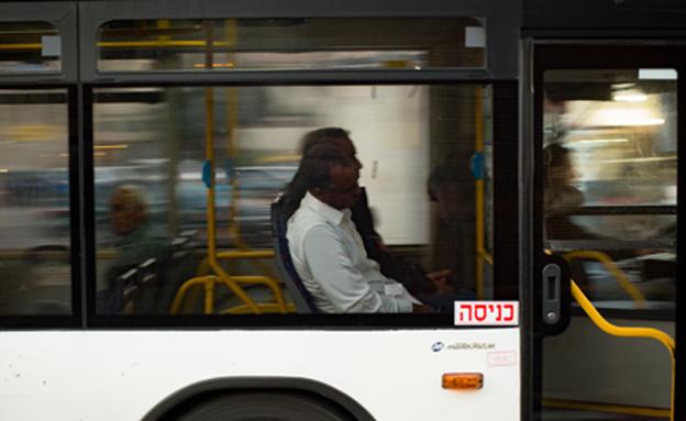 אוטובוס דן (צילום: סבי ברנס / פלאש 90, חדשות)