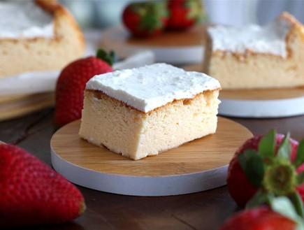 עוגת גבינה ב-5 מרכיבים