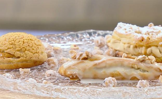 פארי ברסט, פחזנית במילוי קרם קרמל (צילום: מאסטר שף, שידורי קשת)