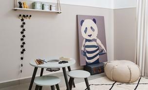 חדר ילדים, ג, עיצוב אורנה מזור (צילום: שירן כרמל)