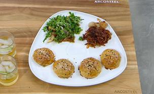 עוגיות בשר (צילום: מאסטר שף, שידורי קשת)