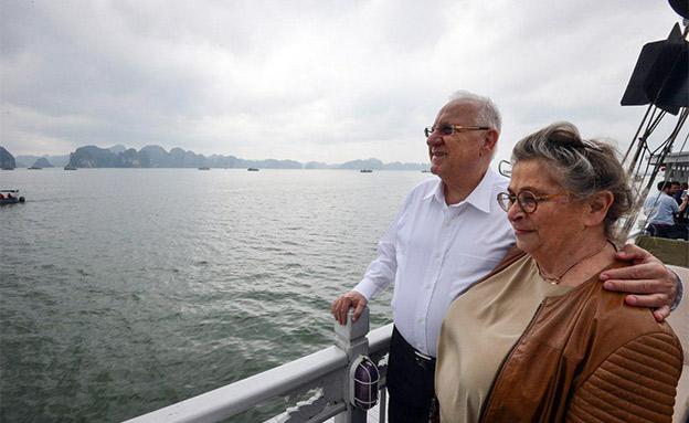 ראובן ונחמה ריבלין (צילום: פלאש 90, חדשות)