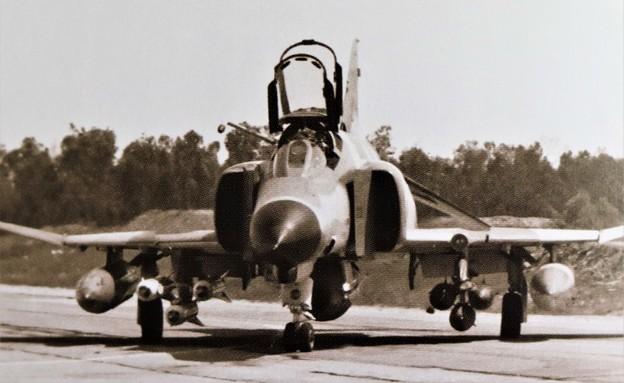 מטוס פנטום (צילום: באדיבות גרעיני החיילים)