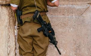 חייל, אילוסטרציה (צילום: Alexandre Rotenberg, shutterstock)