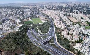 הסוף לפקקים בעליות לירושלים? (צילום: שפיר הנדסה, חדשות)