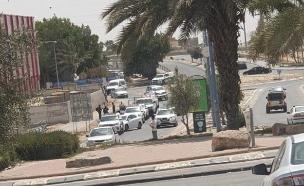 2 שוטרים נפצעו (ארכיון) (צילום: ללא, חדשות)