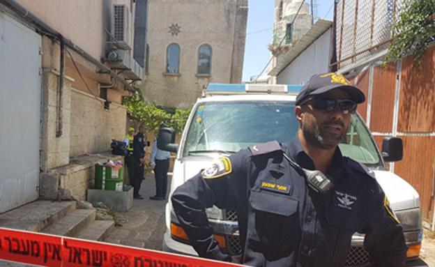 זירת ירי ברמלה, ארכיון (צילום: חדשות 2)