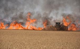 """תערוכה חדשה באו""""ם: נזקי טרור האש בעוטף עזה (צילום: זוהר שפק, חדשות)"""
