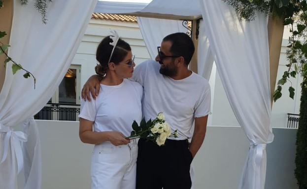 אסי ישראלוף ובת זוגו (צילום: יחסי ציבור)