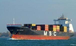 הספינה ההודית מול חופי חיפה (צילום: ללא, חדשות)