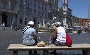 רומא מצטרפת למאבק נגד התיירים (צילום: חדשות)