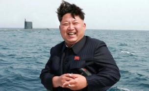 קים ג'ונג און (צילום: The Sun, twitter)
