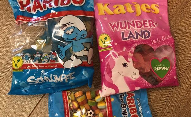 ממתקים מברלין סוכריות גומי  (צילום: ריטה גולדשטיין, אוכל טוב)