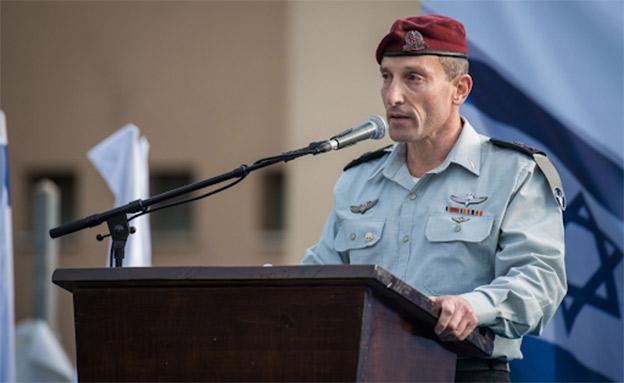 """מפקד פצ""""ן אמיר ברעם. ארכיון (צילום: דובר צה""""ל, חדשות)"""