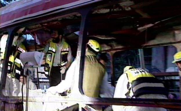 פיגוע בקו 14 בירושלים (צילום: חדשות 2)