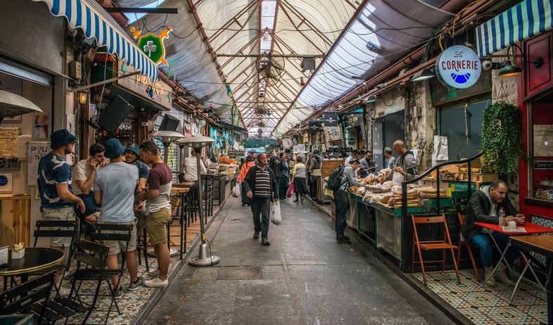 שוק מחנה יהודה (צילום: Alexandre Rotenberg, shutterstock)
