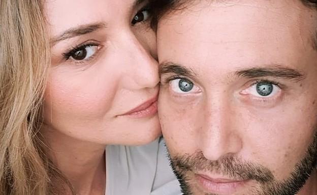 מיכל אנסקי והחבר אייל (צילום: מתוך עמוד האינסטגרם של מיכל אנסקי)