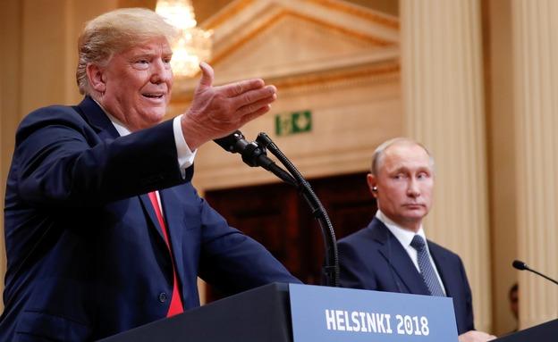 דונלד טראמפ וולדימיר פוטין, ארכיון (צילום: רויטרס, חדשות)