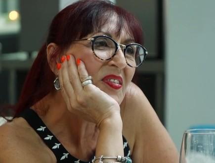 אמא של לירן בארוחה המשפחתית