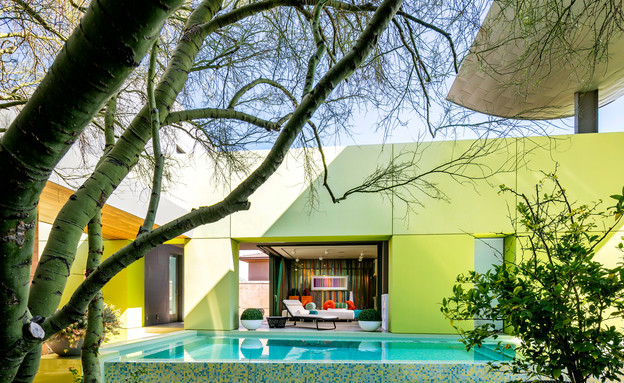 בית בלאס וגאס, חצר פנימית (צילום: שי וליץ)