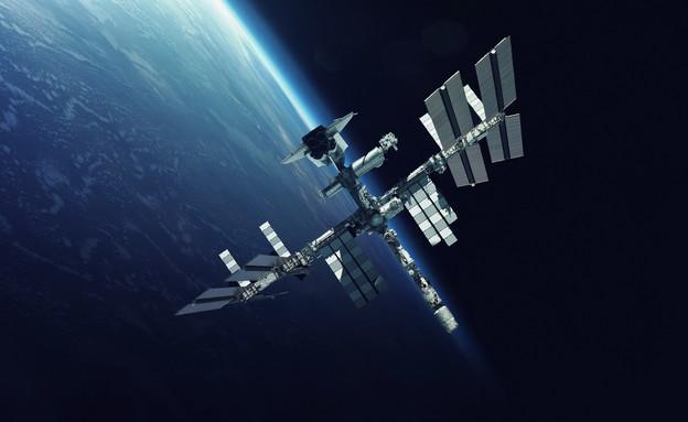 תחנת החלל (צילום: Vadim Sadovski, shutterstock)