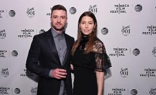 ג'סיקה בייל וג'סטין טימברלייק (צילום: Getty Images: Ilya S. Savenok/Stringer)