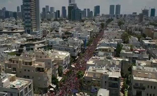 מצעד הגאווה תל אביב 2019 (צילום: ברק ברינקר (Dib), חדשות)