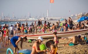 חוף הים באשדוד (צילום: Miriam Alster/FLASH90, חדשות)
