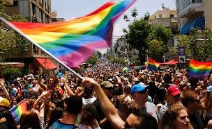 """מצעד הגאווה בת""""א. ארכיון (צילום: רויטרס, חדשות)"""