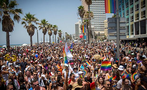 מצעד הגאווה בתל אביב (צילום: Miriam Alster/Flash90, חדשות)