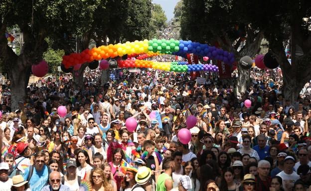 מצעד הגאווה 2019 (צילום: עופר חן)