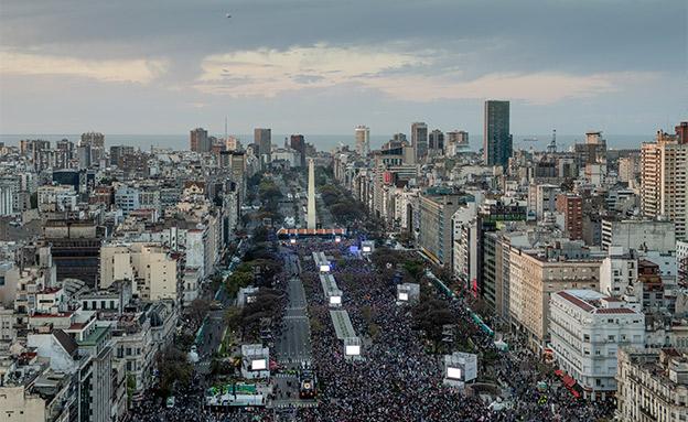 הפסקת חשמל עצומה בארגנטינה ואורוגוואי (צילום: רויטרס, חדשות)