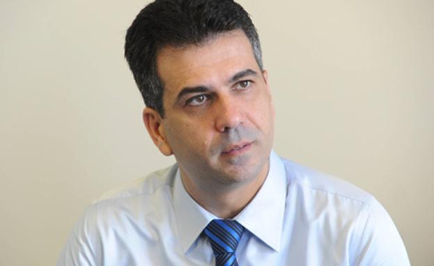 תוקף. שר הכלכלה כהן (צילום: רובי קסטרו, חדשות)