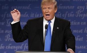 דונלד טראמפ בעימות (צילום: רויטרס, חדשות)