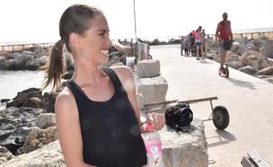 דנה גרוצקי לנביעות, יוני 2019 (צילום: צ'ינו פפראצי)