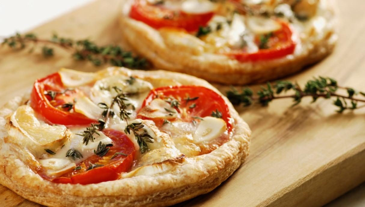 פיצה אישית על בצק עלים