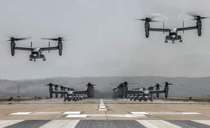 כלי הטיס שעלו לאוויר (צילום: Defence_blog@Twitter)