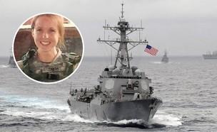 הסוכנת החשאית שנהרגה בסוריה על רקע ספינת צי (צילום: הצי האמריקאי / Stars and Stripes@Twitter)
