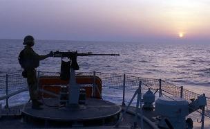 לוחמי חיל הים בגבול הרצועה, ארכיון (צילום: החדשות)