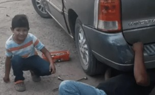 מכונאי מקסיקני (צילום: youtube/Noticias Curiosidades Virales )