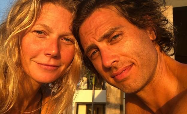 גווינית' פאלטרו וצ'אק פלצ'וק (צילום: אינסטגרם gwynethpaltrow )